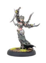 Warwitch Initiate Deneghra  Cryx Warcaster (metal)